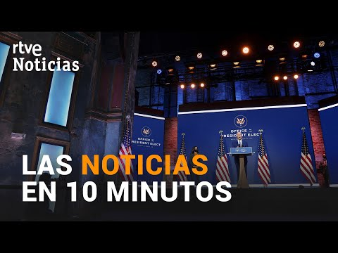 Las noticias del LUNES 9 de NOVIEMBRE en 10 minutos I RTVE