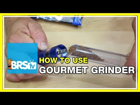 How to use the Gourmet Grinder | BRStv How-To