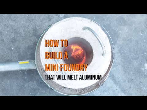 Make Your Own Mini Metal Foundry