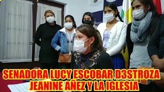 SENADORA LUCY ESCOBAR RELATA COMO FUE D3TENIDA POR LA DICT4DURA DE JEANINE AÑEZ..