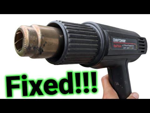 ► Craftsman Heat Gun Repair Highlights