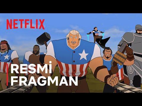 America: The Motion Picture   Channing Tatum   Resmi Fragman   Netflix