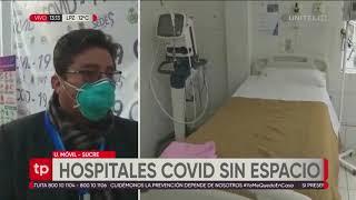 178262 colapsan hospitales covid en sucre