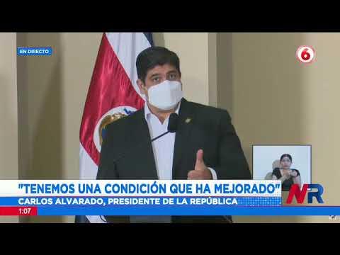Presidente Carlos Alvarado: Cada persona que no esté vacunada pone en riesgo a los demás