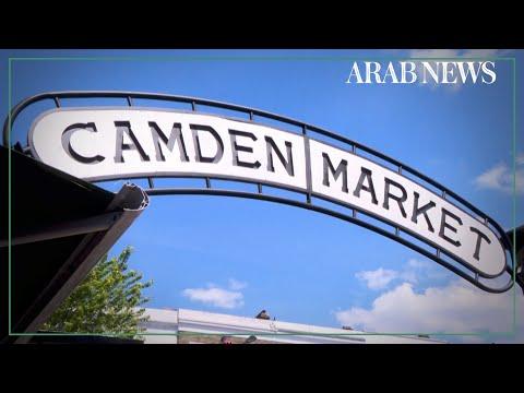 Historic Camden Market reopens as London lockdown eased