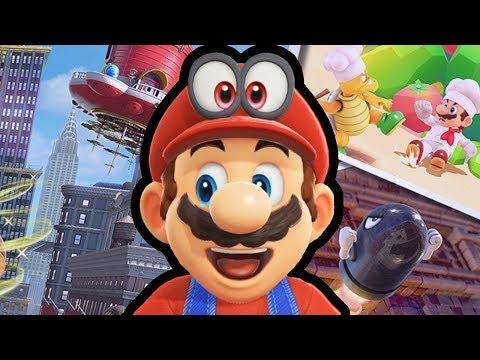 connectYoutube - Super Mario Odyssey Review   TheJWittz