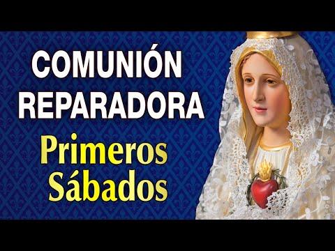 COMUNIÓN REPARADORA de los 5 PRIMEROS SÁBADOS de MES