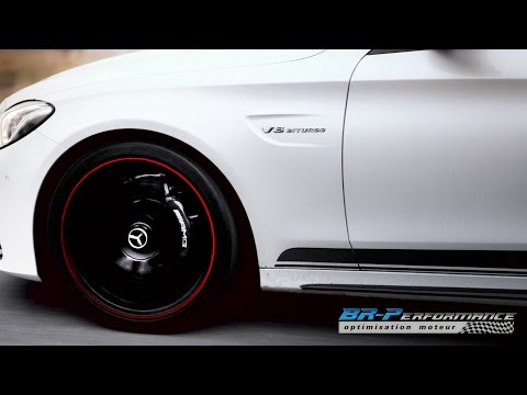 Mercedes C63 AMG 4.0 V8 Bi-Turbo Stage 1 By BR-Performance