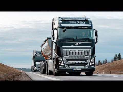 Volvo Trucks - New Distance Alert safety function helps drivers to keep the distance