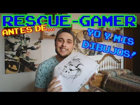 antes de Rescue-Gamer: Yo a través de mis dibujos