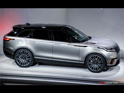 Car Design: 2018 Range Rover Velar