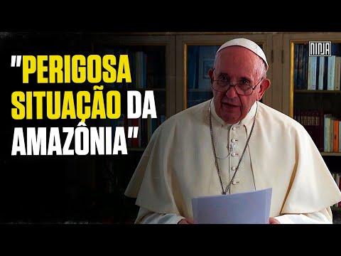 Na ONU, Papa aponta a 'perigosa situação da Amazônia'