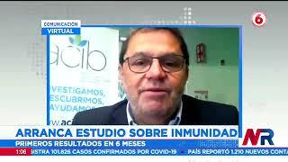 Arranca estudio sobre inmunidad al virus de la Covid-19