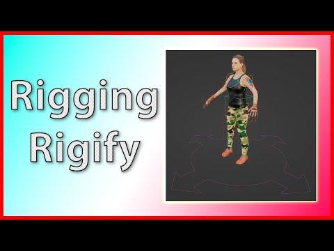 🦾Blender 2.8 - Rigging Rigify - Turorial Español