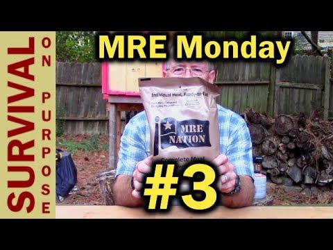 MRE Monday #3 - Southwest Style Beef With Black Beans