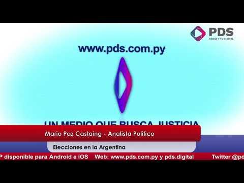 Entrevista - Mario Paz Castaing - Analista Político - Elecciones en la Argentina