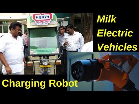 Electric Vehicles News 53: Robotic EV Charger, Vijaya Dairy EVs, Jagannath Temple EVs