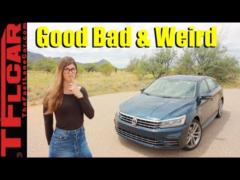 Review: What's Good, Bad and Weird about the 2018 VW Passat R-Line