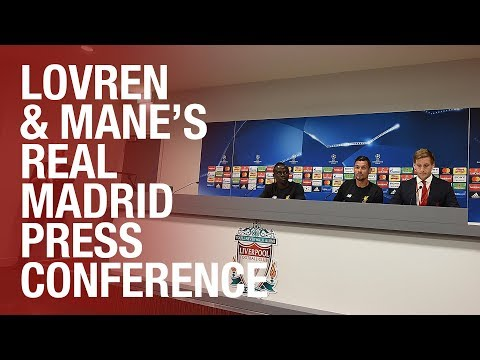 Lovren and Mane preview the Champions League final | Press Conference