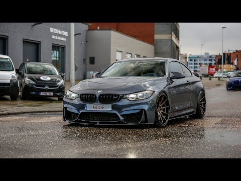 Bagged BMW M4 F82 w/ Remus Exhaust - LOUD Accelerations !