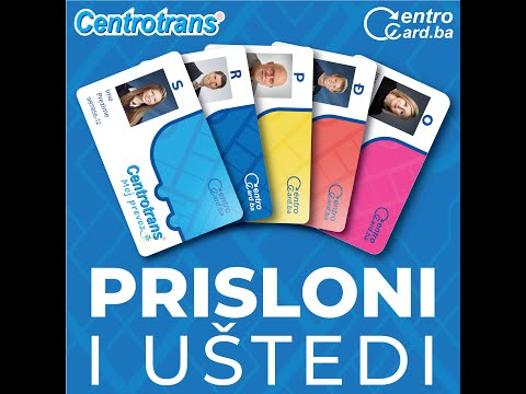Centrotrans CentroCard kartice