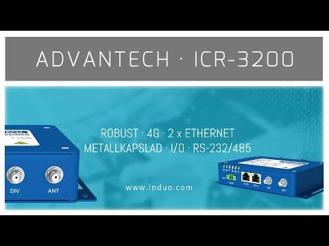 ICR-3200 robust 4G router från Advantech