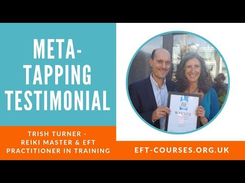 Trish Turner Testimonial on metaTapping