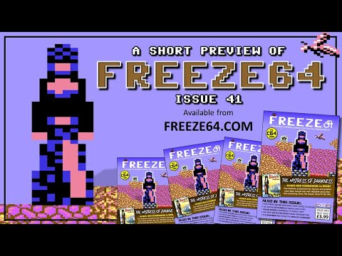 FREEZE64 fanzine issue 41 for the Commodore 64