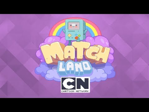 Cartoon Network Match Land - iOS / Android - Game play Trailer