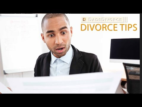 Responding To Divorce Papers | Dads Divorce | Divorce Tips