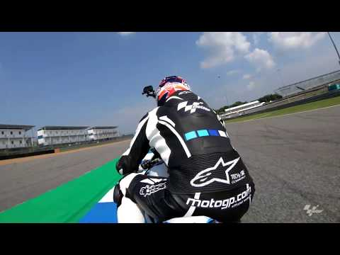 A lap of the Chang International Circuit with Simon Crafar and GoPro?