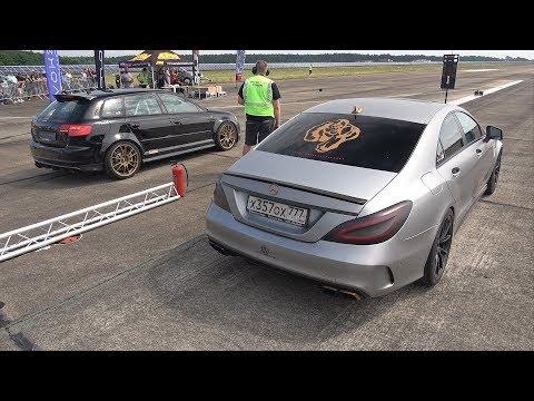 700HP Audi RS3 Sportback PPH-Motoring vs 1000HP Mercedes-Benz ClS63 AMG Gorilla Racing