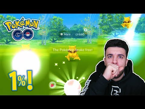 connectYoutube - THERE IS A 1% CHANCE OF THIS HAPPENING TO YOU IN POKEMON GO! VERY RARE INSTANCE!