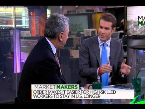 NGKF CEO Barry Gosin Discussing Immigration Order on Bloomberg