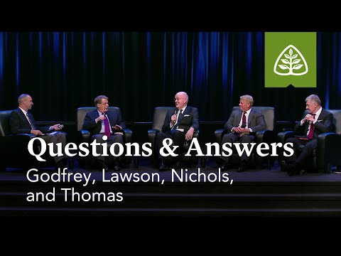 Questions & Answers with Godfrey, Lawson, Nichols, and Thomas