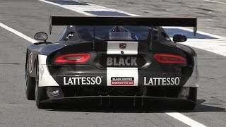 SRT Viper GT3-R In Action On Track – Accelerations  Fly Bys