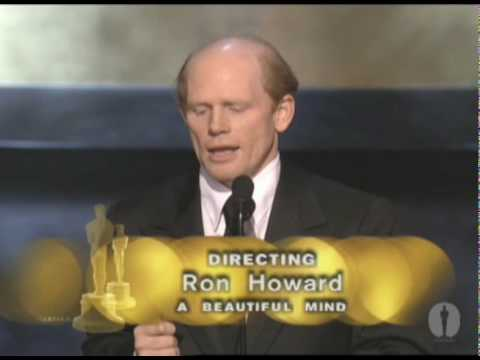 Ron Howard winning an Oscar for