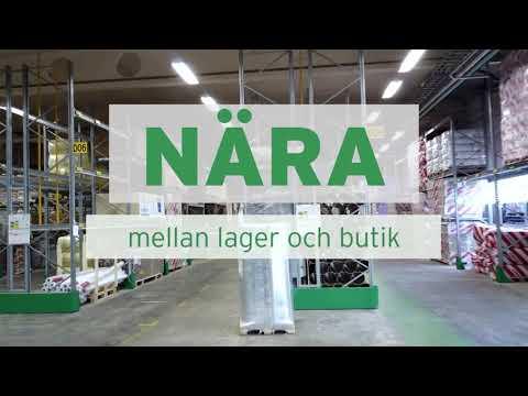 Derome öppnar Sydsveriges största lager för bygg- och järnvaror
