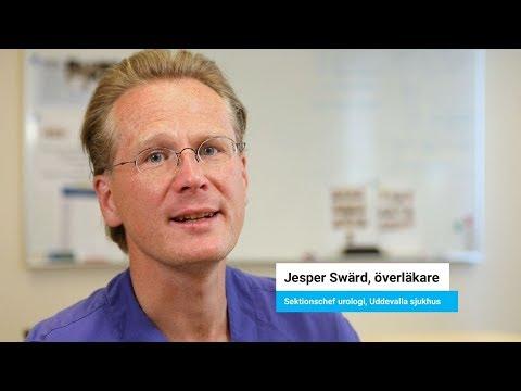 Goda exempel med SVF: Jesper Swärd, sektionschef urologsektionen, Uddevalla sjukhus