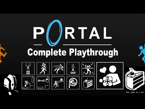 Portal 1 |  Complete Playthrough