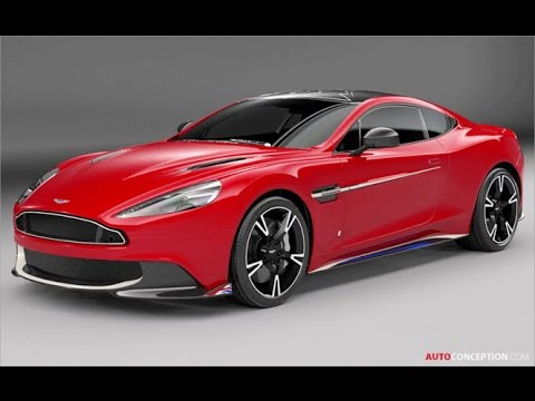 Car Design: 2017 Q by Aston Martin Vanquish S 'Red Arrows Edition'