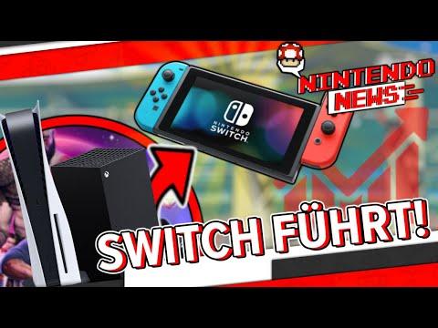 Nintendo Switch überholt PS5 und Xbox Series zusammen! - NintendoNews