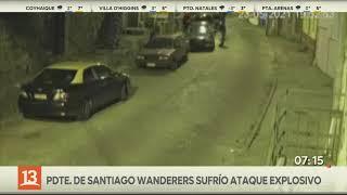 Presidente de Santiago Wanderers sufre ataque explosivo