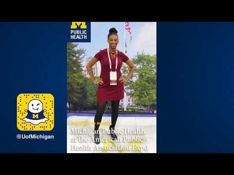 Snapchat Story: SPH Takeover American Public Health Expo