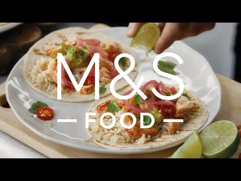 marksandspencer.com & Marks and Spencer Voucher Code video: 100% Scottish Salmon   Episode 4   Fresh Market Update   M&S FOOD
