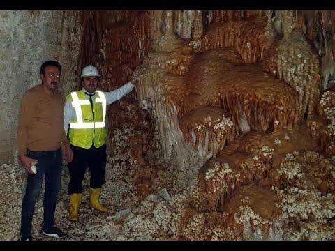 Yozgat'ta inşaat kazısında, yeraltı mağarası bulundu
