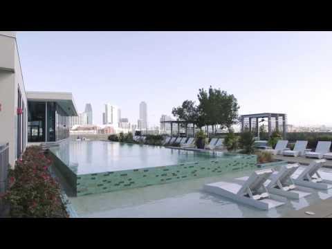AMLI Design District Pool and Sun Deck Tour