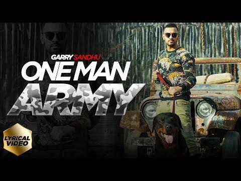 ONE MAN ARMY LYRICS - Garry Sandhu