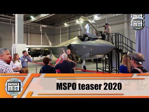 MSPO 2020 teaser International Defense Industry Exhibition Poland Kielce what to expect business