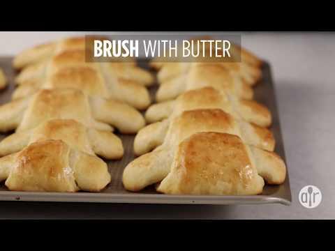 How to Make Golden Crescent Rolls | Appetizer Recipes | Allrecipes.com
